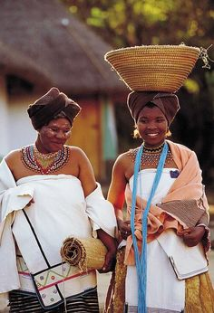 Xhosa Bride - Gauteng, South Africa by South African Tourism, Cultures Du Monde, World Cultures, African Tribes, African Women, We Are The World, People Of The World, African Beauty, African Fashion, Thinking Day