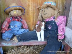 Learn How To Build A Scarecrow
