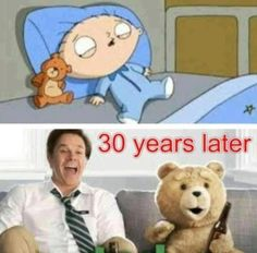 I would like to bring your attention to the best collection of funny Family Guy memes you have ever seen. If you like it, share these funny Family Guy meme pictures with your friends. Family Man, Family Guy Meme, Family Humor, Funny Family, Memes Humor, Funny Jokes, Hilarious, Ted Meme, Haha