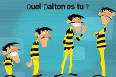 Quel Dalton es-tu ? - Teletoon+