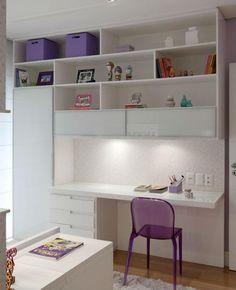 Home Office Decor Study Room Design, Home Room Design, Home Office Design, Home Office Decor, Study Table Designs, Office Designs, House Design, Small Room Bedroom, Bedroom Decor