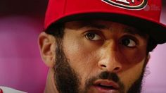 San Francisco 49ers quarterback kneeled during the national anthem on Thursday.