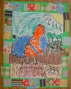 Mrs. Knight's Smartest Artists: Georgia Folk Art, 2012: 1st grade