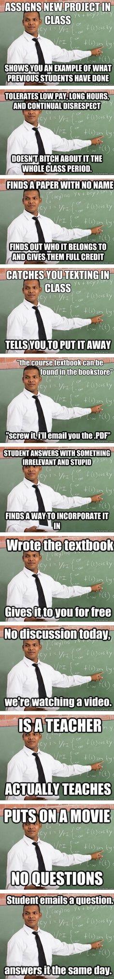 There's a good guy teacher meme?!