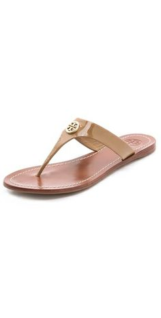 dadf3d67ee4 Tory Burch Cameron Thong Sandals I have them in orange