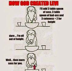 iLaugh: How god created levi