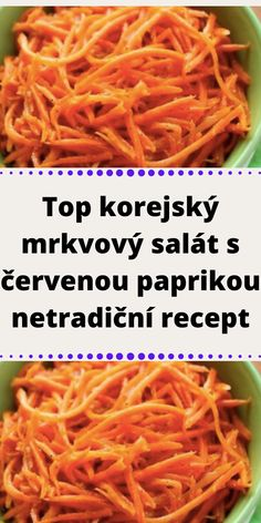 Slovak Recipes, Onion Rings, Carrots, Vegetables, Ethnic Recipes, Food, Fitness, Red Peppers, Salads