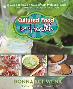 Donna Schwenk's first book, Cultured Food for Life (2013), told the amazing story of how she used the probiotic power of fermented foods to heal herself and her family from serious illness...On Special Now!! #books, #health    http://inspiremebooks.com.au/home/cultured-food-for-health.html