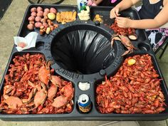 <p> This could be the ultimate invention of all time. If you hang out with slobs on a regular basis to bbq, eat some crabs and boil some crawfish, then this picnic table is an absolute must. You can sit …</p>