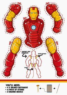 ironman-de-papel.jpg (520×736)