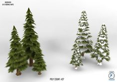 pine trees no.2 by TheSnowMouse