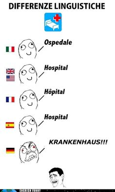 we are GERMAN.