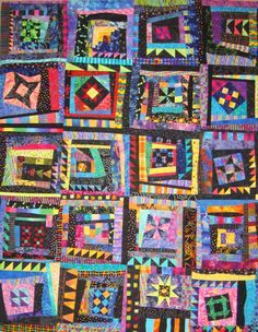~ Wow Quilt ~This would be a great way to incorporate all my test squares!