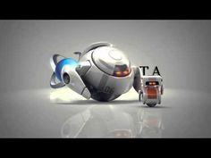 Vídeo presentación con robot de tu empresa, web o blog.