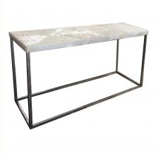 Metal Parquet Coffee Table from Restoration Hardware