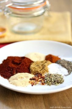 Homemade Taco Seasoning - forget the packaged stuff and make your own taco seasoning with spices right in your cabinet!