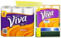 Viva Paper Towels $0.52 per Roll at Walgreens!
