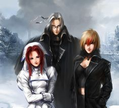 Trinity Blood by agnidevi.deviantart.com on @DeviantArt