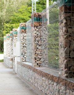 габионы забор