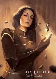 Lin Beifong - Avatar : Legend of Korra Avatar Aang, Avatar Airbender, Team Avatar, Lin Beifong, The Last Avatar, Avatar World, Avatar Series, Korrasami, Fanarts Anime
