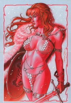 Red Sonja •Peter Vale