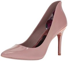 Bring your outfits to a new level of finesse with the Ted Baker Saviy pump. Suede leather upper. Slip-on construction. Elongated ankle adds appeal. Pointed toe silhouette. Leather lining and insole...