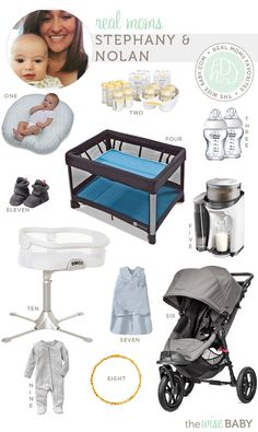 Real Moms Favorite Baby Products - 4moms Breeze, Baby Jogger City Elite, Boppy Newborn Lounger, Halo Swivel Sleeper Bassinet, + more!