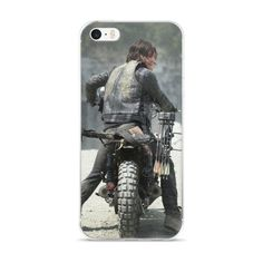 #TWD #Dary l iPhone Case #014 | #DarylDixon This hybrid case combines a solid polycarbonate back, with flexible, rigid sides. It fits your phone perfectly, and protects from scratches, dust, oil, and dirt.    • Made of a hybrid Thermoplastic Polyurethane (TPU) and Polycarbonate (PC) material  • Solid, durable polycarbonate back   • Flexible, rigid thermoplastic polyurethane sides  • Precisely aligned cuts and holes that match your phone's functions  • Easy to take on and off  • .5 mm raised…