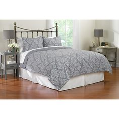 FREE SHIPPING! Shop Wayfair for Patrician Kendall Quilt Set - Great Deals on all Bed & Bath products with the best selection to choose from!