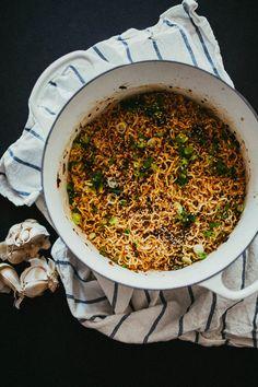 Recipe: College-Style Garlic Noodles