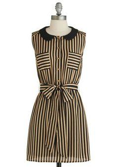 Foot Tour Dress, #ModCloth it reminds me of a tim burton movie!