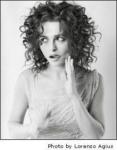 I'd cut my hair short if I thought I'd look like Helena Bonham Carter every day Helena Bonham Carter, Helen Bonham, Helena Carter, Tim Burton, Short Curly Hair, Curly Hair Styles, Thick Hair, Marla Singer, Famous Faces