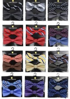 "IN STORE Mens ""Tied"" Bow Ties Available Now. Available now in store. You can order online, just specify color.  Available now. Ships immediately."