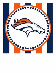 broncos logo clip art free free football clipart graphics to s rh pinterest com Denver Broncos Logo Denver Bronco Funny Clip Art