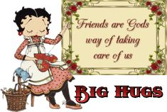 @ Suzanne Larkin , Friends are Gods way of taking care of us