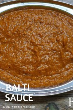 Learn how to make Balti Sauce. Balti sauce is the base of all balti curries. Balti curry is one of the famous curry in UK. Curry Sauce Recipe Indian, Masala Recipe, Vegan Curry Sauce, Curry Recipes, Vegetarian Recipes, Cooking Recipes, Rub Recipes, Sauce Recipes, Cooking Tips