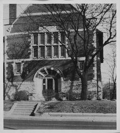 Wychwood Branch - exterior photo - Toronto Public Library.