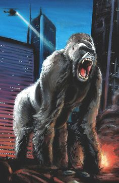 11x17+Kong+Print+by+KillustrationStudios+on+Etsy,+$15.00