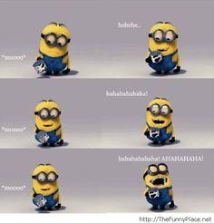 Funny minions conversation