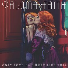 """Paloma Faith has graced the front cover of her latest single wearing designs by De Montfort University (DMU) Contour Fashion graduate Nichole de Carle. The beautiful silk Opal Dressing Gown and matching High Waisted Knicker in Raspberry Diva Nude were worn by the British pop star on the artwork for her new single """"Only Love Can Hurt Like This""""."""
