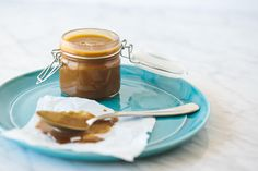 It's a triple coconut, salted caramel sauce! That also happens to be dairy-free, paleo and vegan-friendly. Does it get any better? This salted caramel sauce is also not your mother's or grandmother's caramel recipe, made from refined sugar, butter and heavy cream. This dairy-free, paleo and vegan-friendly salted caramel sauce leverages the wonderful coconut palm tree in