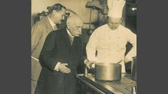 Escoffier in pictures - testing recipes at the Carlton