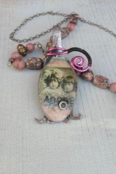 resin jewelry in aspoon