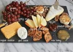 cheese board - Trader Joes