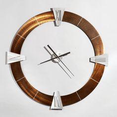 "Nova Jon Gilmore Oversized 36"" Deco Wall Clock"