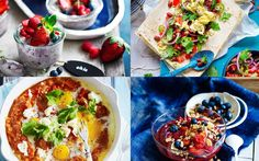 Healthy breakfast ideas for #WellnessWednesday. Healthy recipes for a healthy lifestyle.