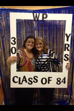 Photo Booth for 30th Class Reunion was a big hit!