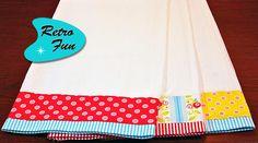 1º Projeto - Toalhinha de Chá PAP | Clubinho da Costura