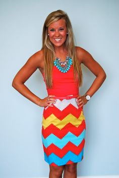 Chevron ❤ Bright Colors