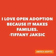 What do you love about open adoption? Tell us & we'll share it on our social media networks during Valentine's Day weekend.